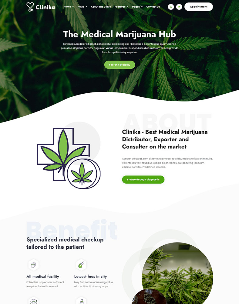 Marijuana Clinic Shop