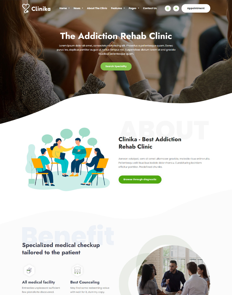 Addictions Rehab Clinic