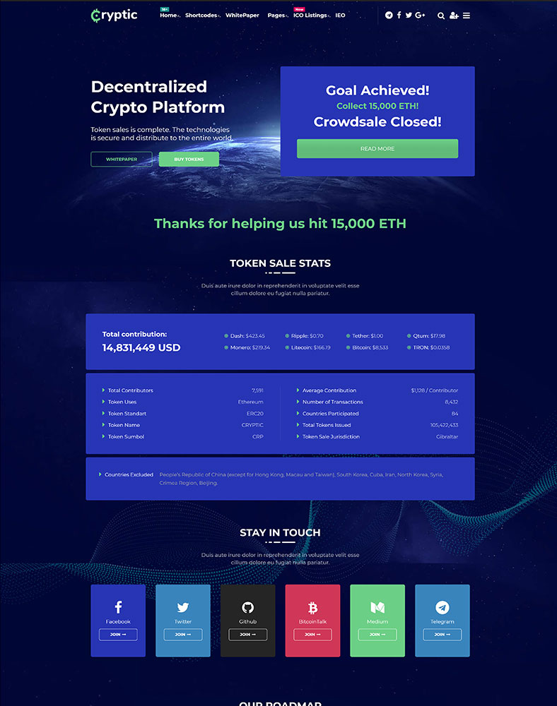 Decentralized Coin