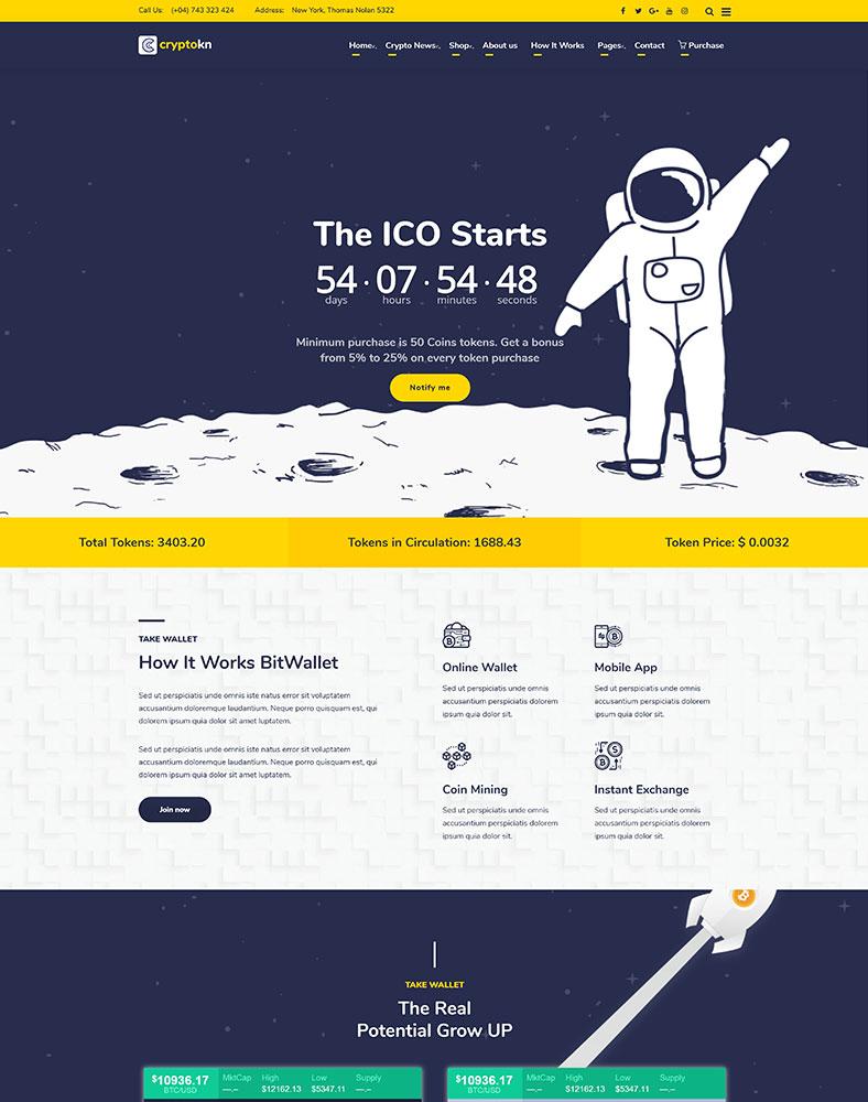 ICO Landing 2