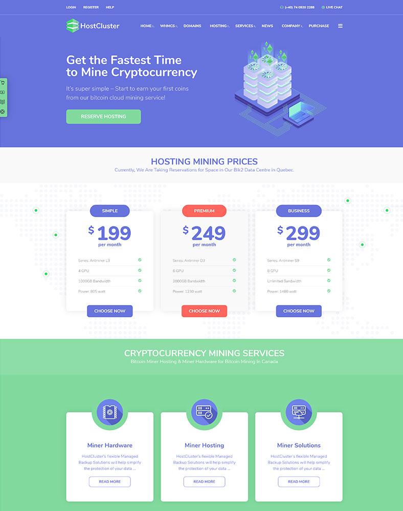 Crypto Hosting