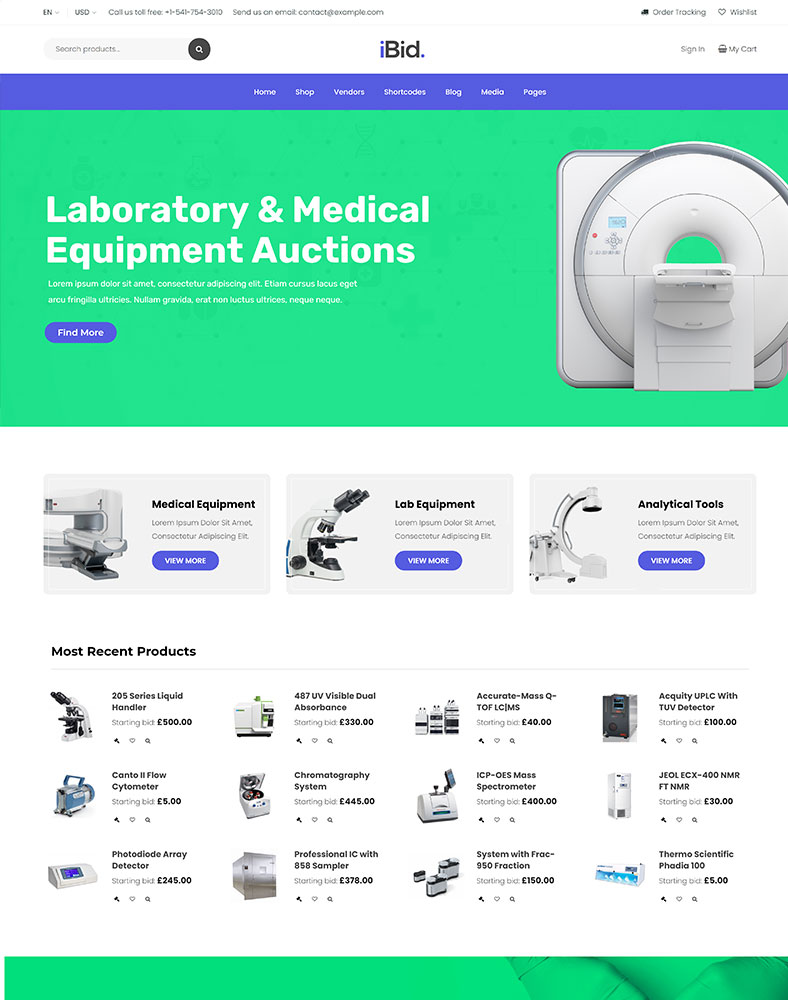 Laboratory & Medical Auctions