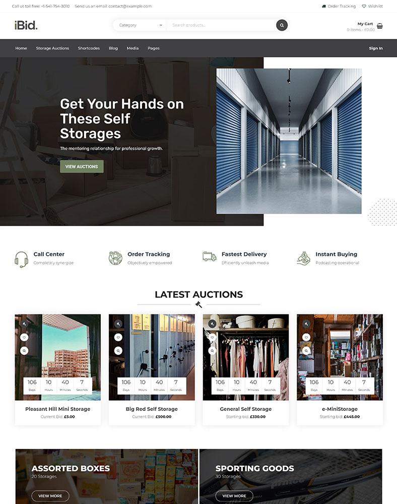 Self Storage Auctions
