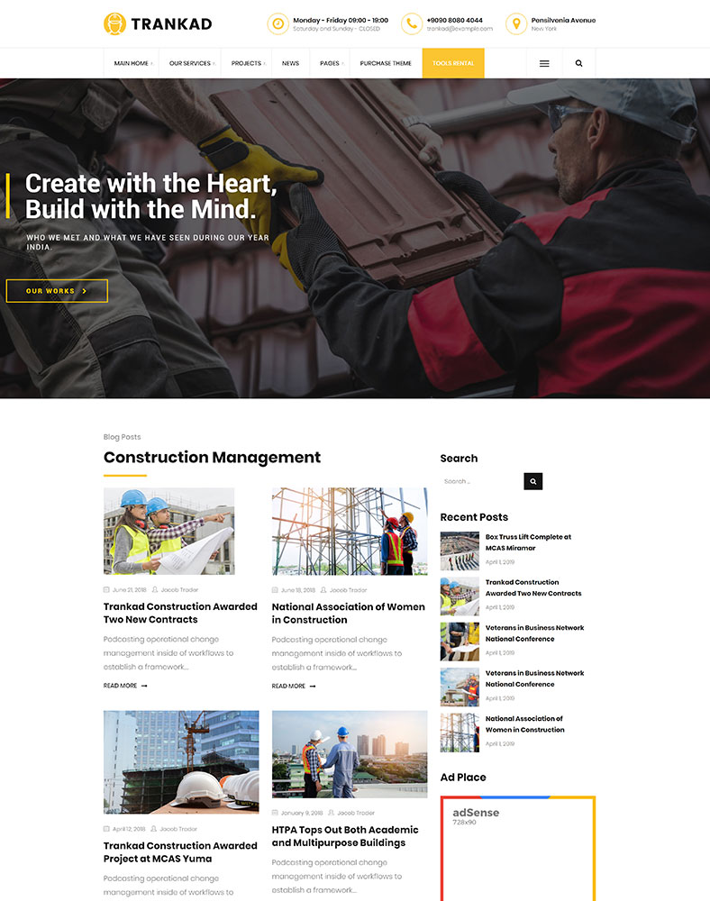Construction Blogging