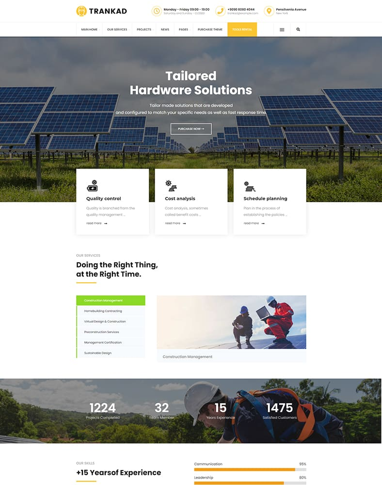 Photovoltaic Installers