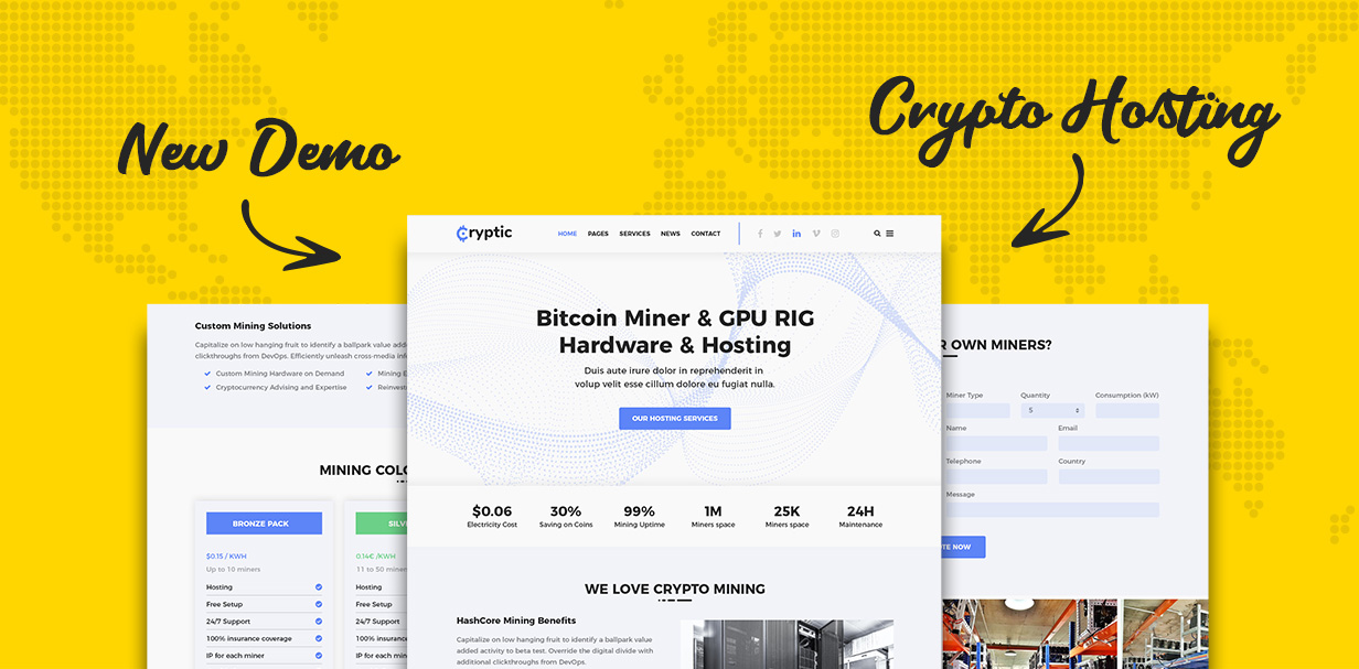 cryptic cryptocurrency wordpress theme free download