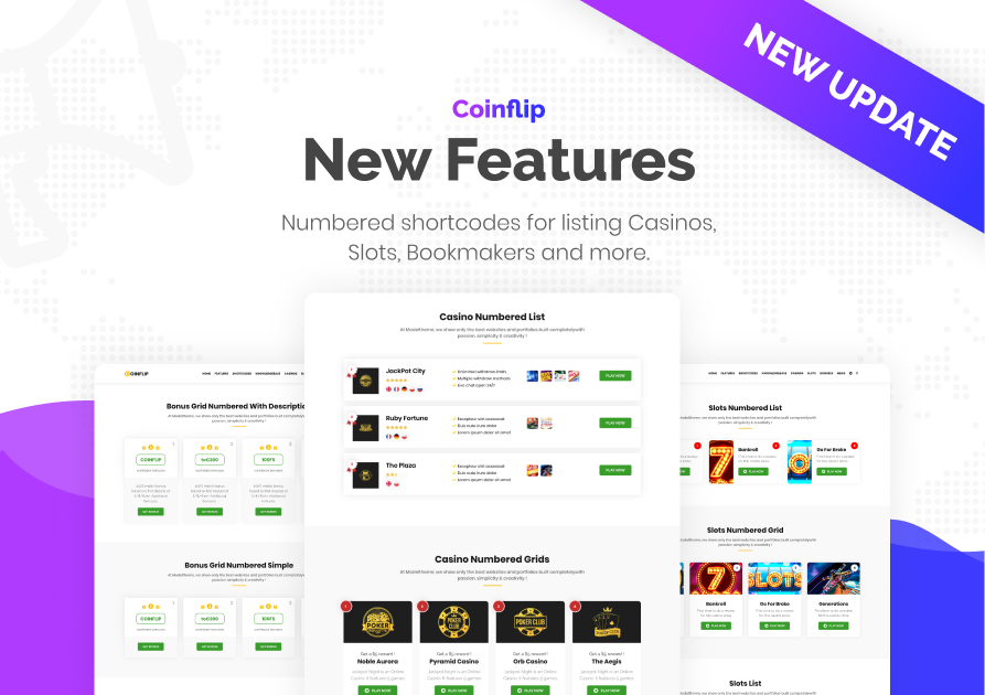 Coinflip - Casino Affiliate & Gambling WordPress Theme - 2