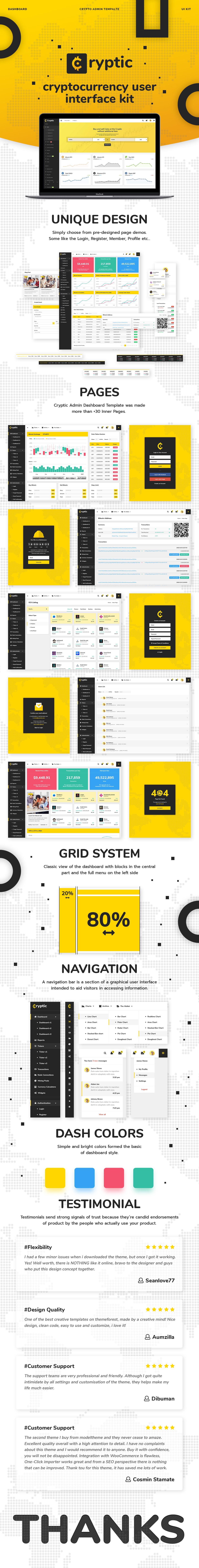 Cryptic - Crypto UI Kit - 8