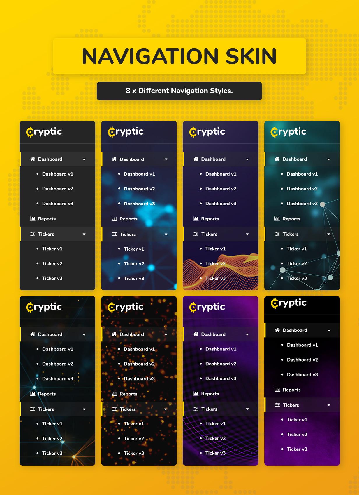 Cryptic - Crypto UI Kit - 4