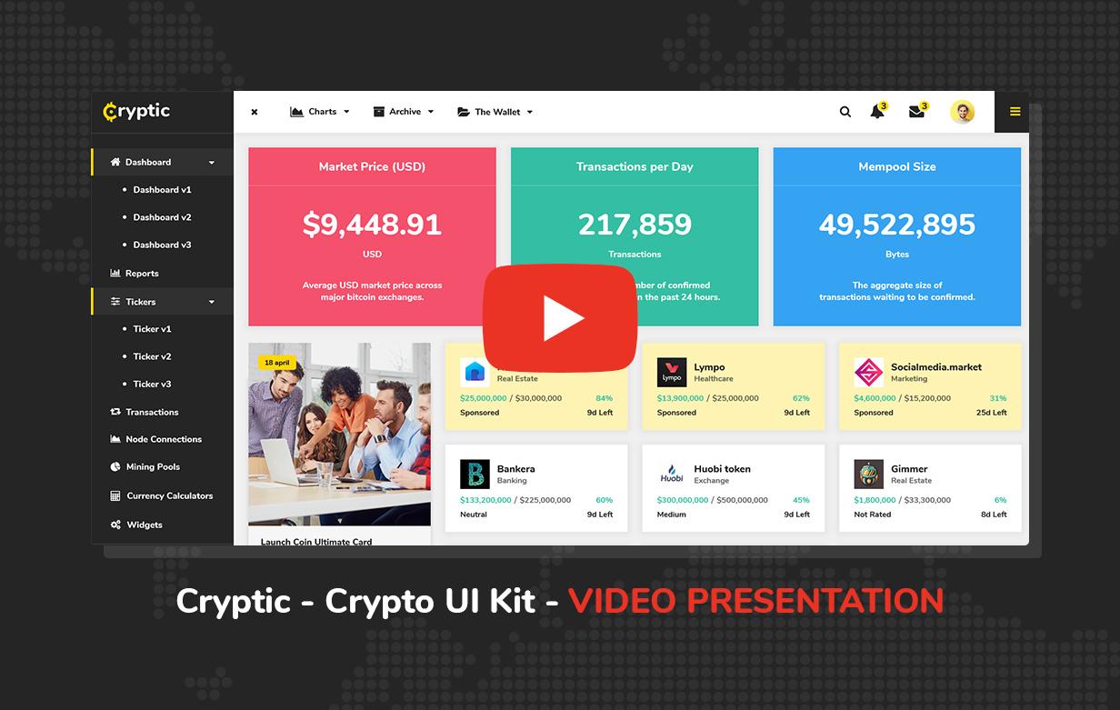 Cryptic - Crypto UI Kit - 5
