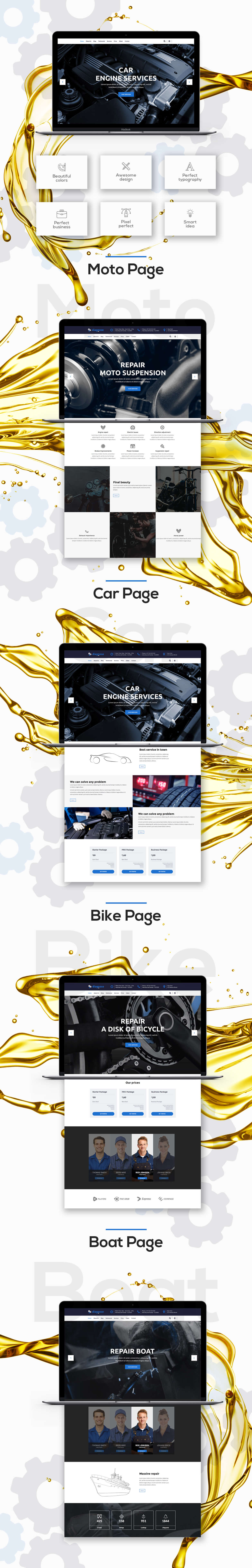 Diagnose - Auto Repair | Mechanic | Workshop WordPress Theme - 3