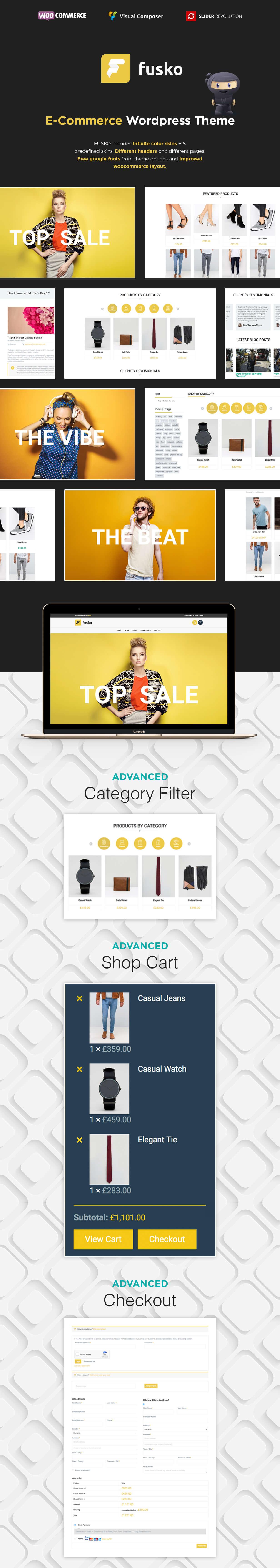 Fusko - Tech/Gadgets WooCommerce WordPress Theme - 4