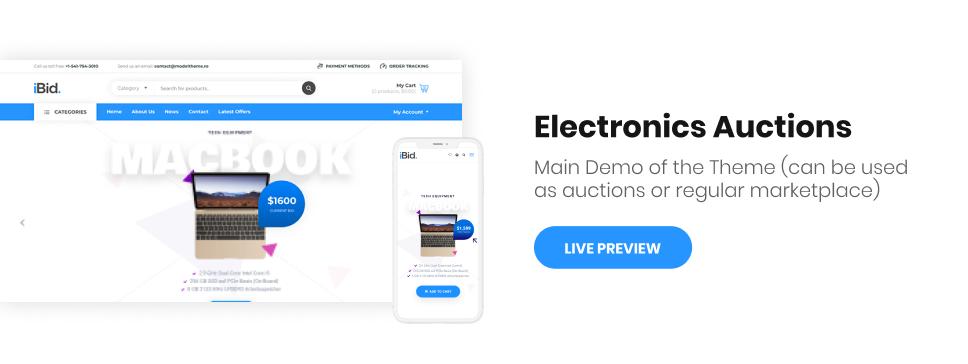 iBid - Single & Multi Vendor Auctions Shopify Theme - 4