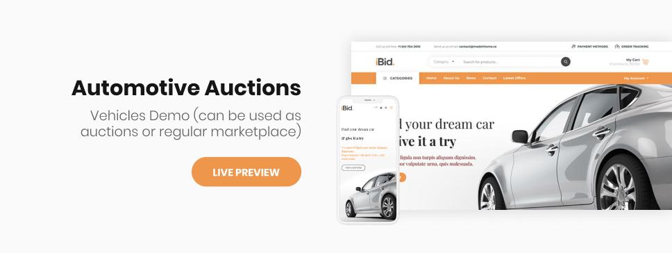 iBid - Single & Multi Vendor Auctions Shopify Theme - 5