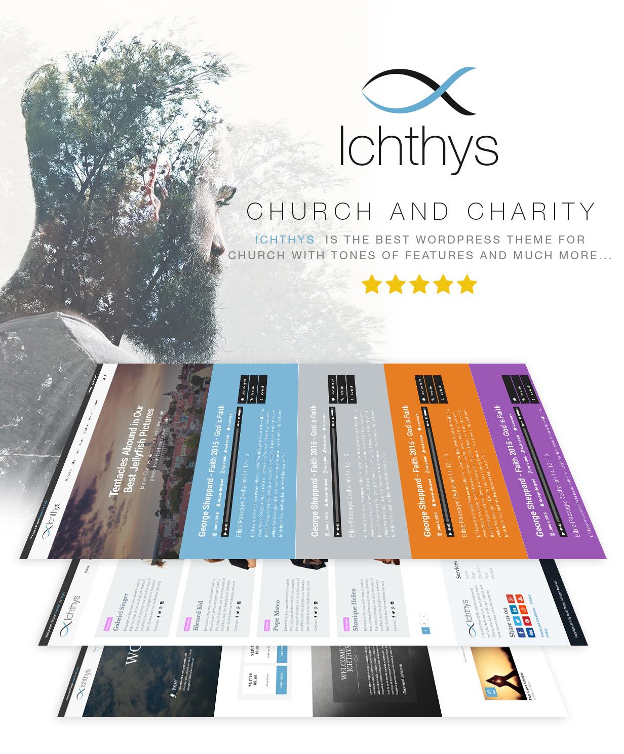 Ichthys - Church WordPress Theme - 1
