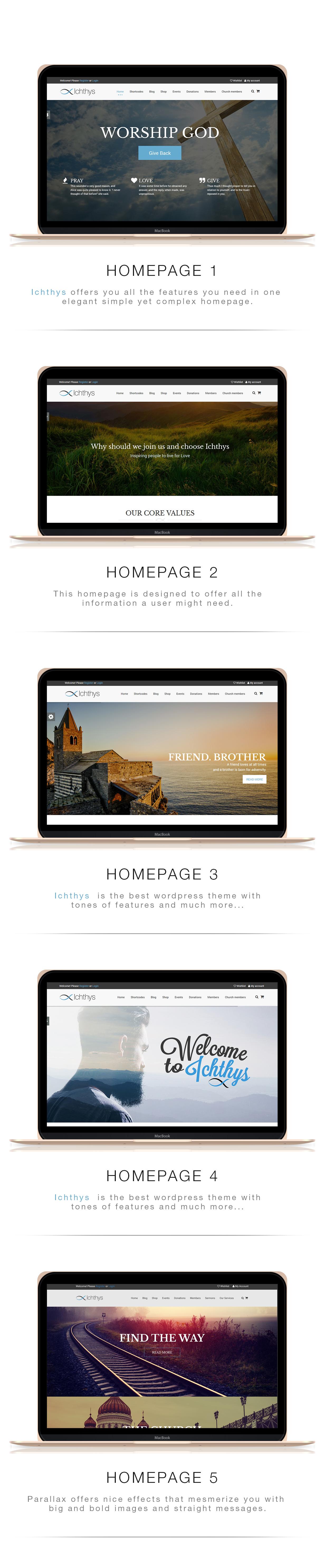 Ichthys - Church WordPress Theme - 5
