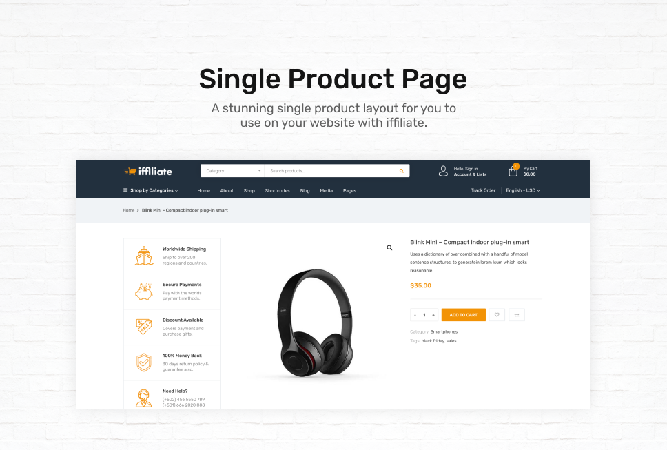 iffiliate - WooCommerce Amazon Affiliates Theme - 3