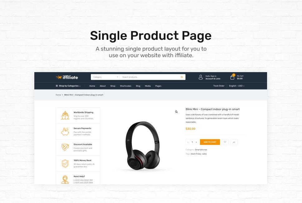 iffiliate - WooCommerce Amazon Affiliates Theme - 4