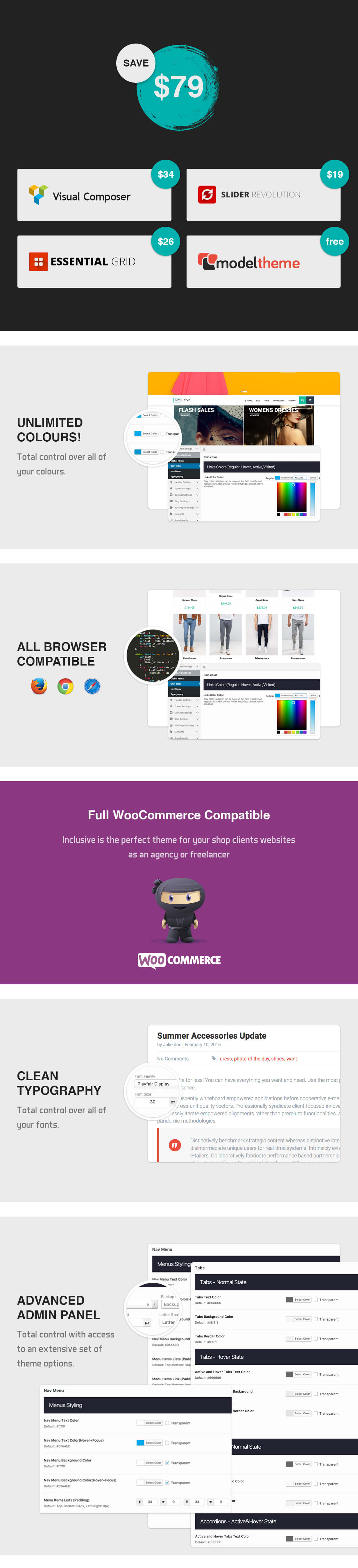 Inclusive - Multipurpose WooCommerce WordPress Theme - 4