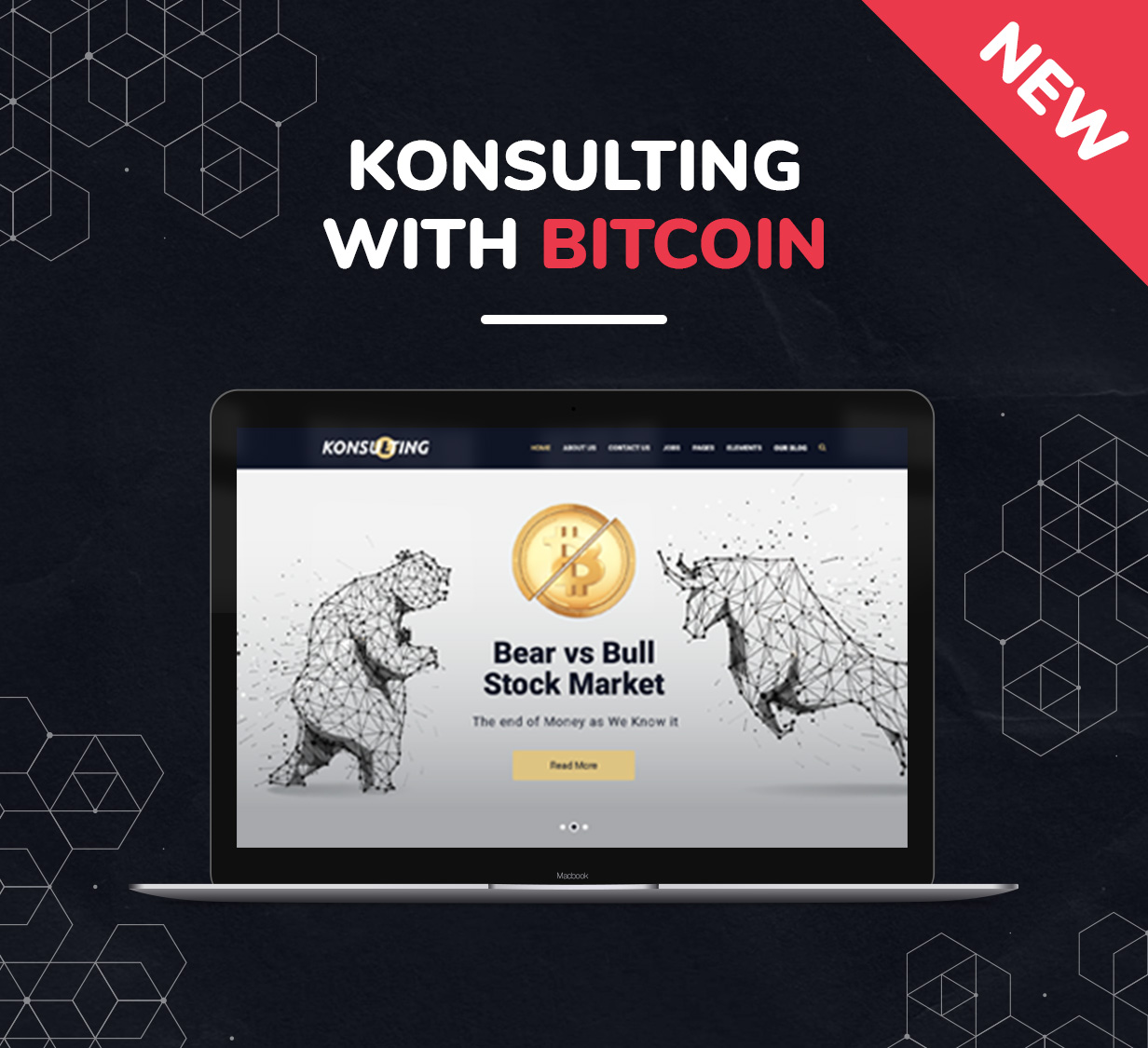 Konsulting - Consulting & Bitcoin WordPress Theme - 2