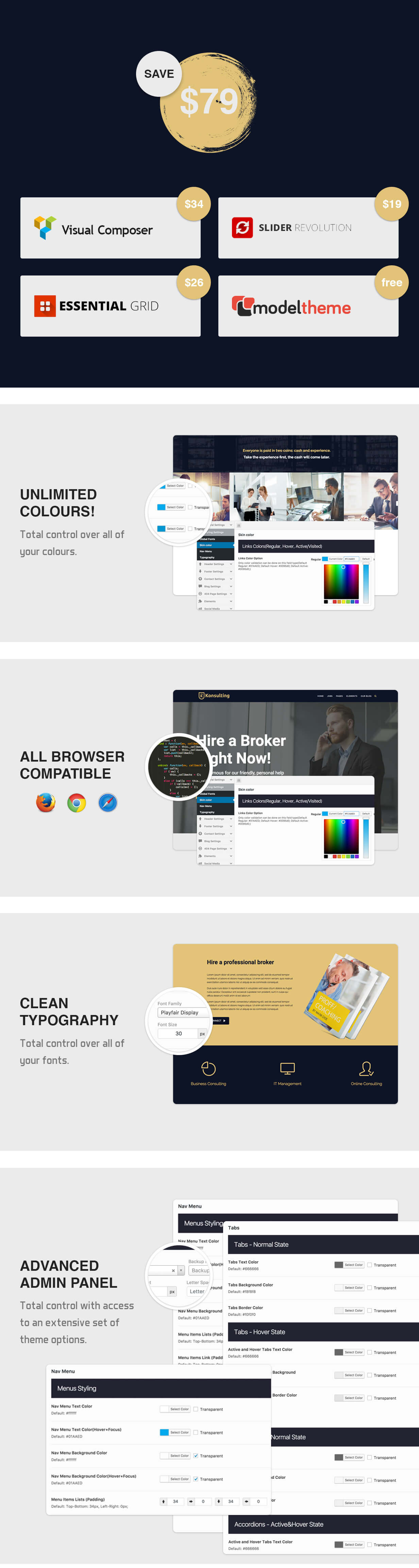 Konsulting - Consulting & Bitcoin WordPress Theme - 5