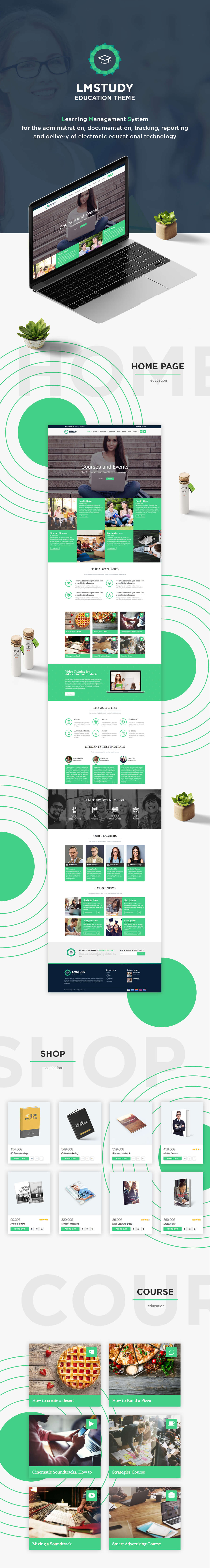 LMStudy - Course / Learning / Education LMS WooCommerce Theme - 2