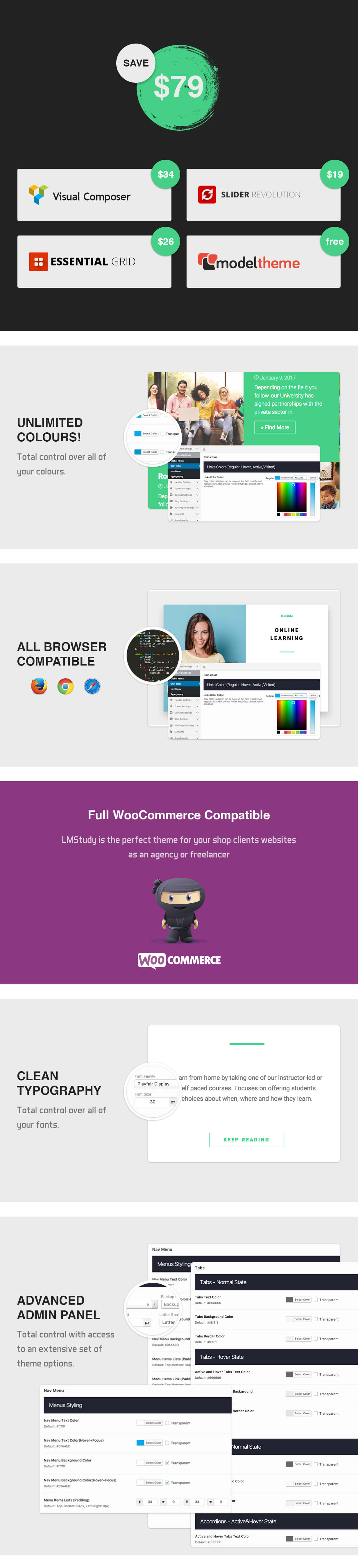 LMStudy - Course / Learning / Education LMS WooCommerce Theme - 6