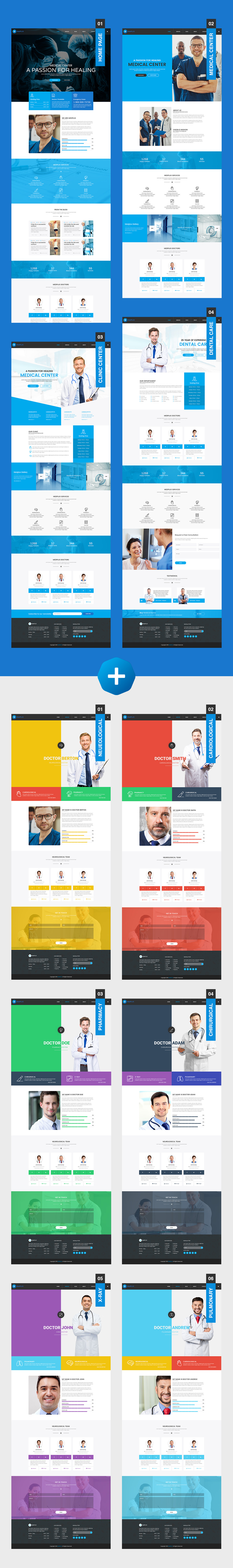 MedPlus – Medical & Health WordPress Theme - 1