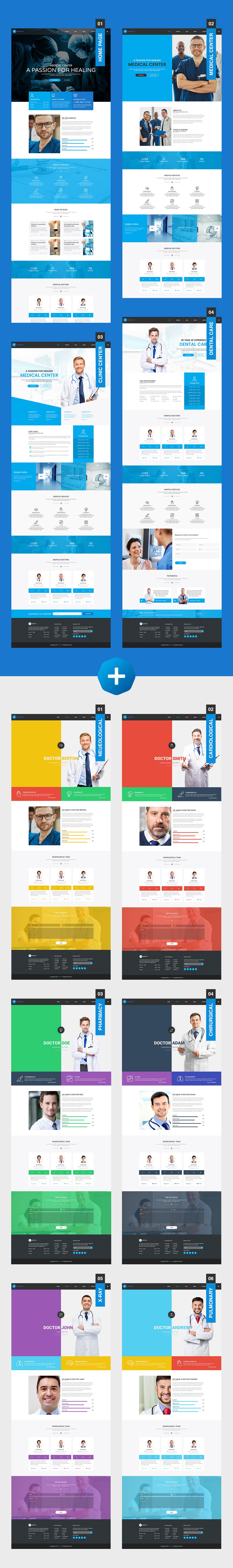 MedPlus – Medical & Health WordPress Theme - 1