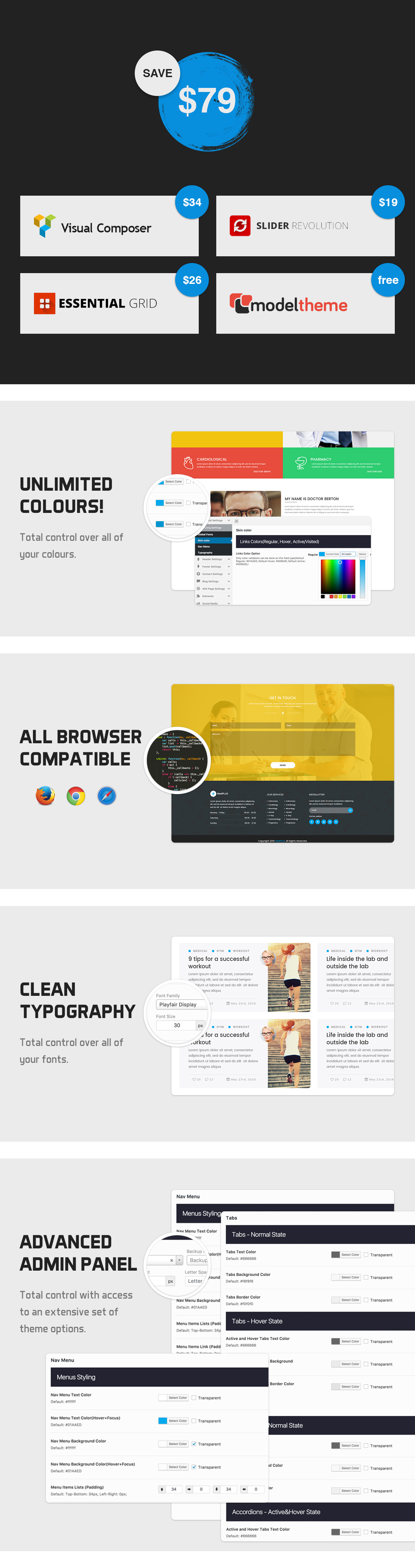 MedPlus – Medical & Health WordPress Theme - 3