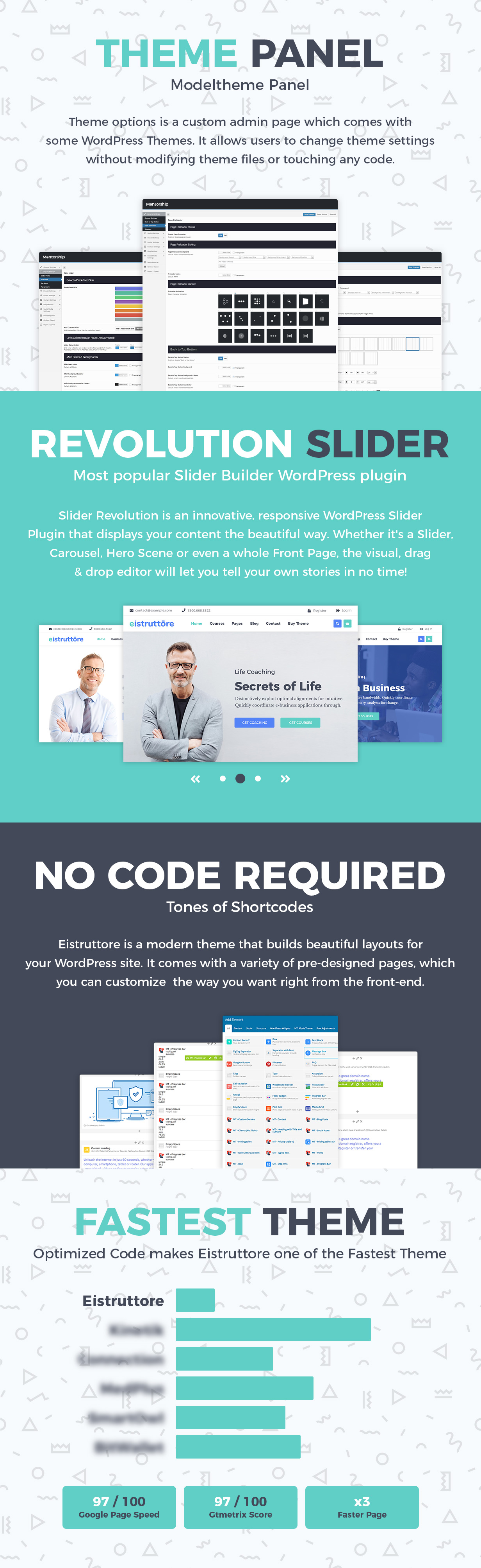 Eistruttore - Speaker and Life Coach WordPress Theme - 4