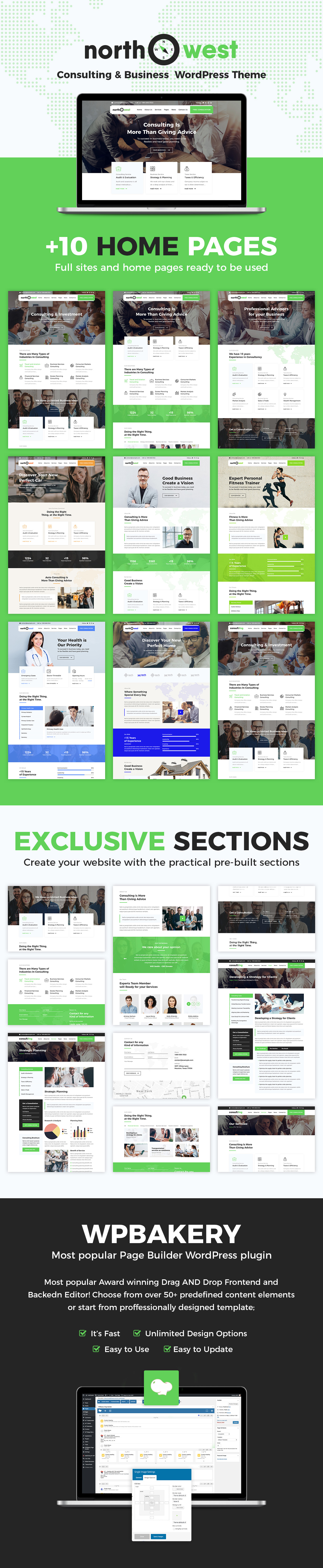 Northwest - Consulting WordPress Theme - 2