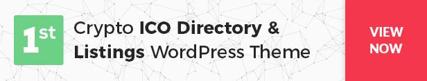 Cryptic - Cryptocurrency WordPress Theme - 16
