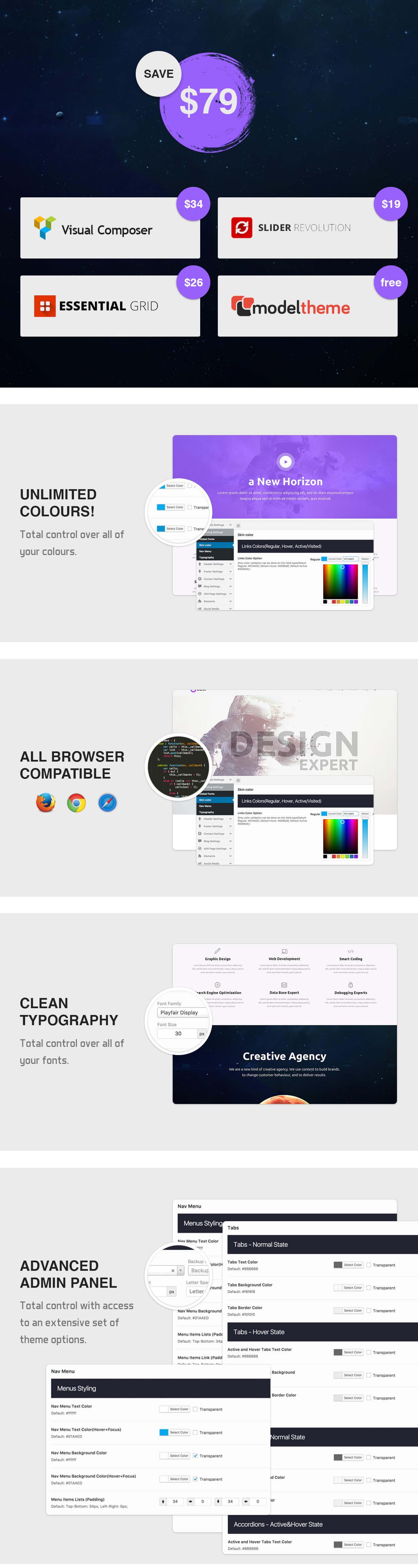 Odear - Multi-Concept Creative WordPress Theme - 3