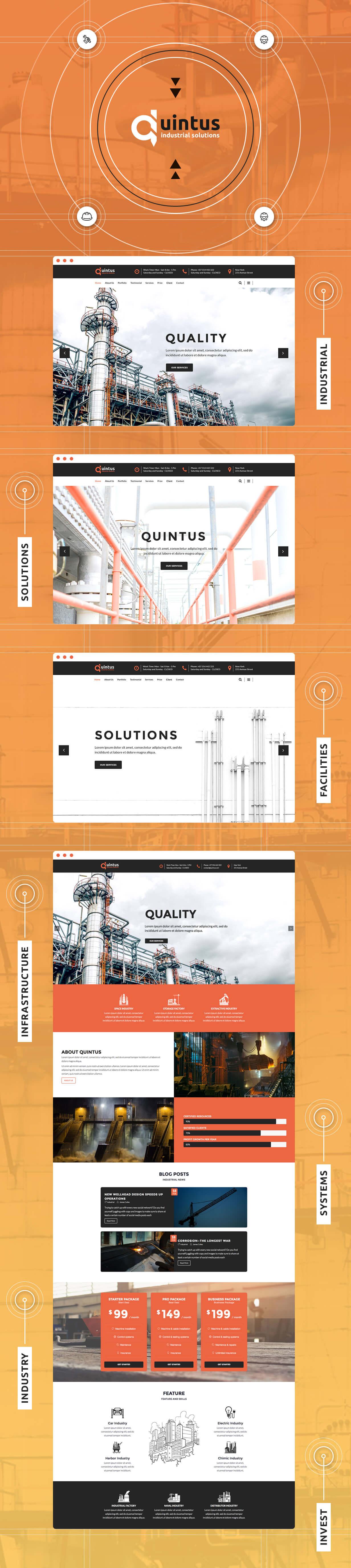 Quintus - Industrial & Engineering WordPress Theme - 2