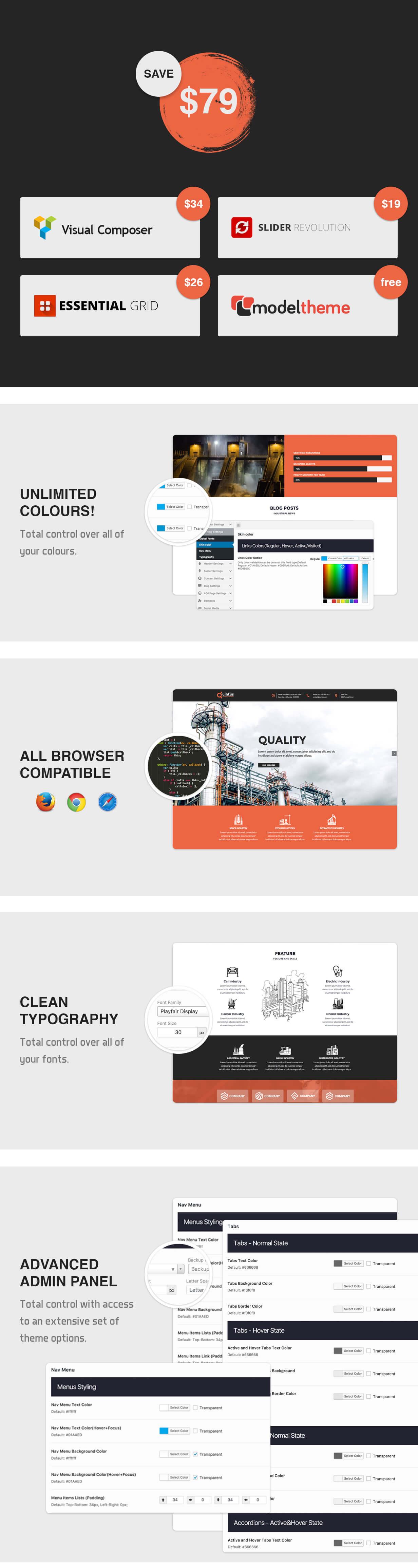 Quintus - Industrial & Engineering WordPress Theme - 5
