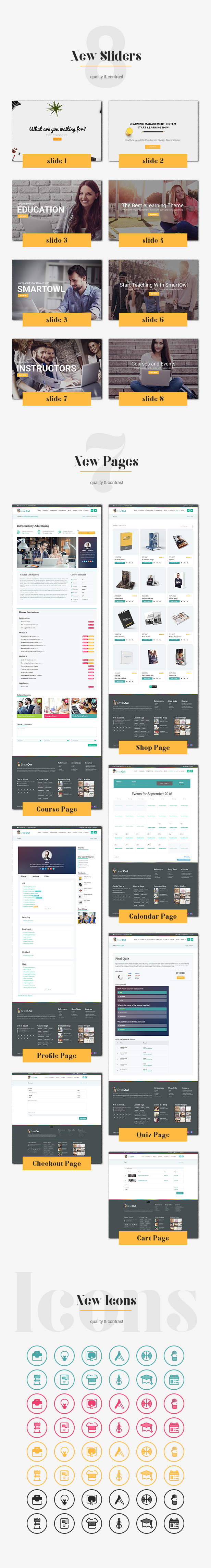 SmartOWL - Education Theme & Learning Management System for WordPress - 3
