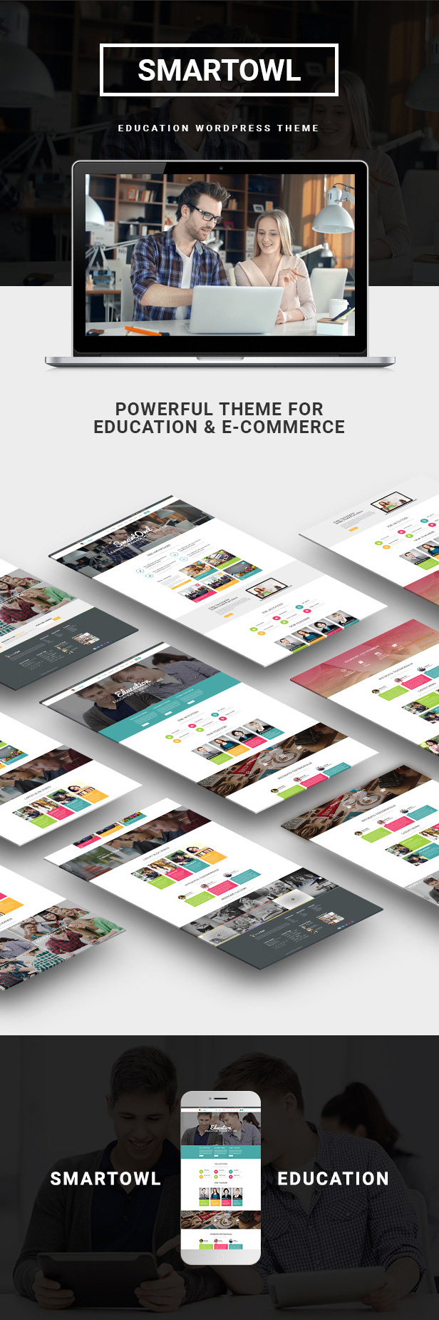 SmartOWL - Education Theme & Learning Management System for WordPress - 10