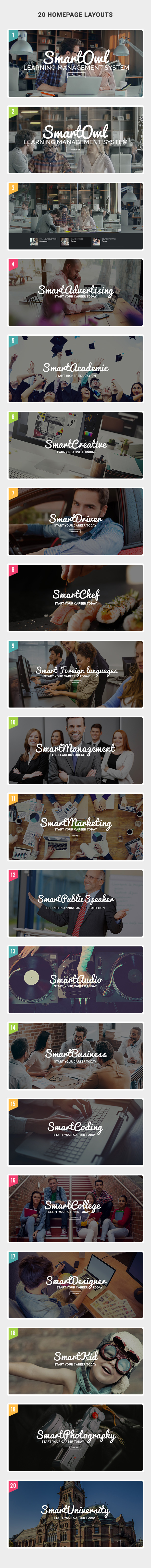 SmartOWL - Education Theme & Learning Management System for WordPress - 12