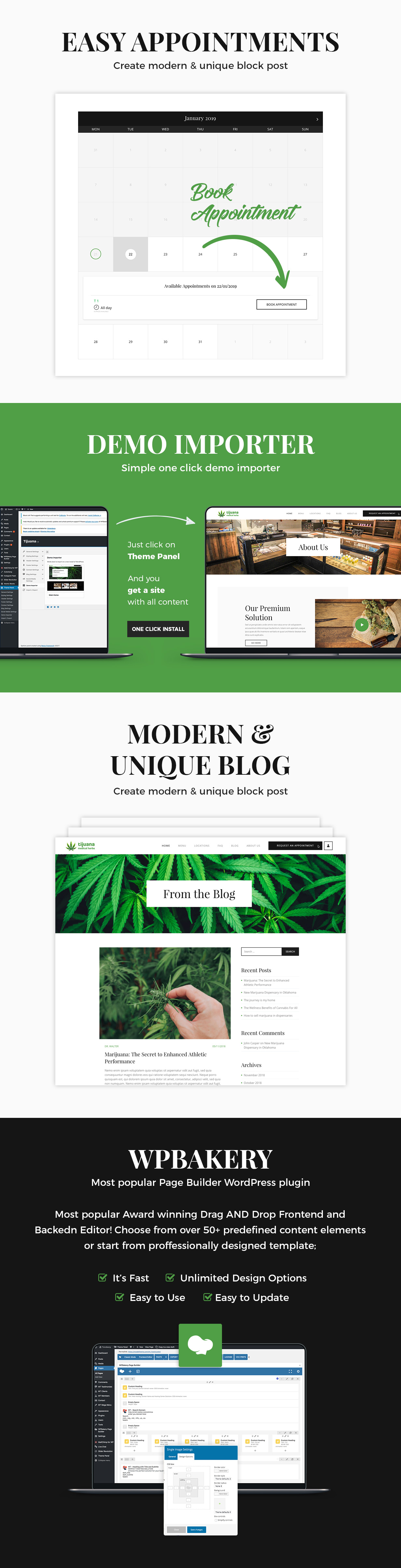 Tijuana - Marijuana Dispensary & Medical WordPress Theme - 6