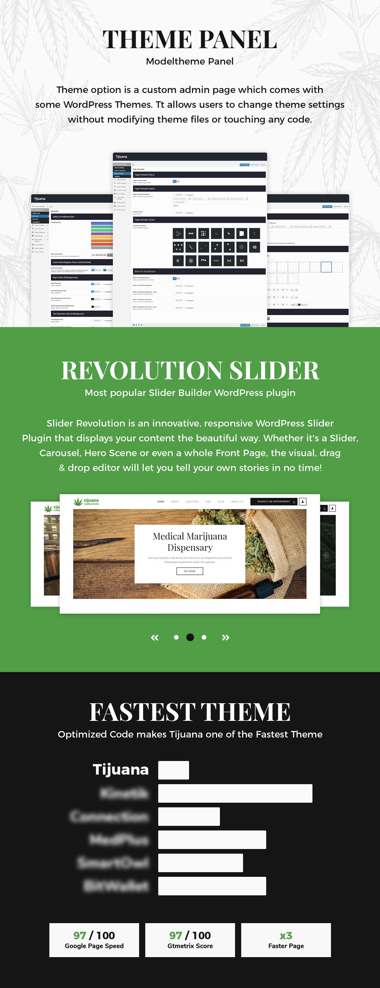 Tijuana - Marijuana Dispensary & Medical WordPress Theme - 7