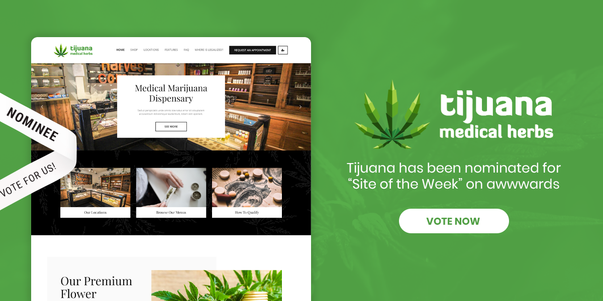 Tijuana - Marijuana Dispensary & Medical WordPress Theme - 2