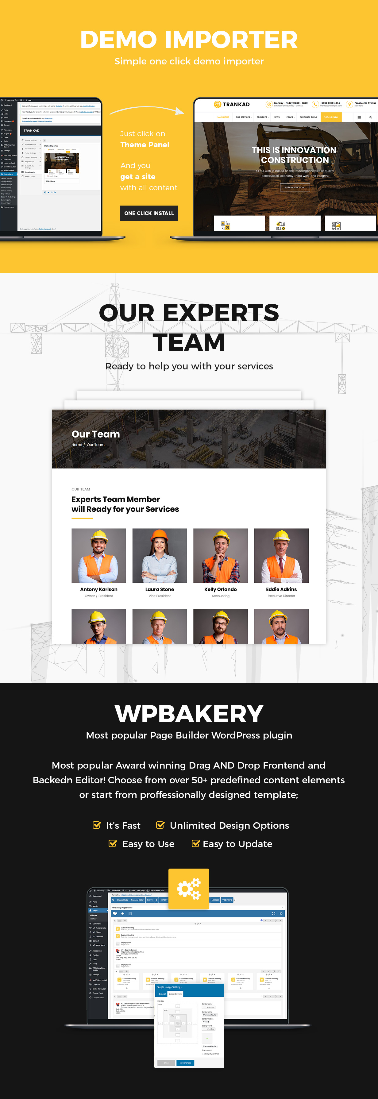 Trankad - Construction WordPress Theme - 8