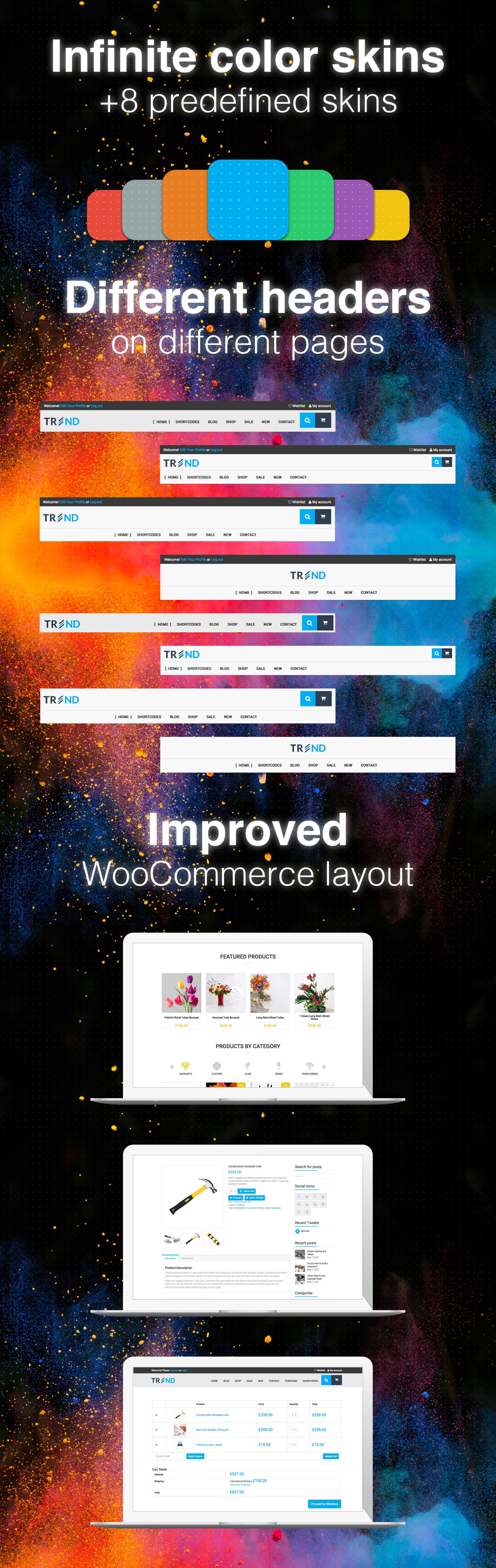 Trend - Multi-Niche WooCommerce Theme - 2