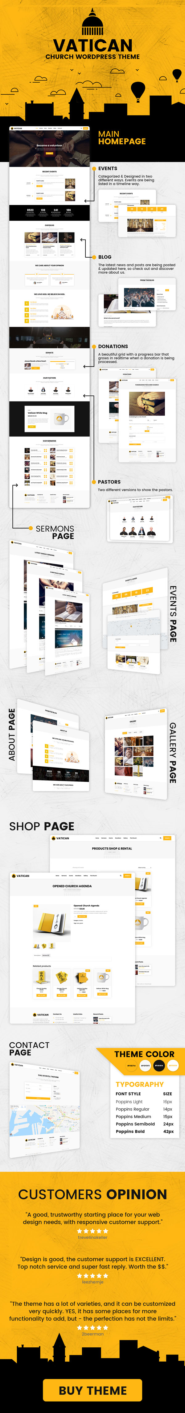 Vatican - Church WordPress Theme - 2