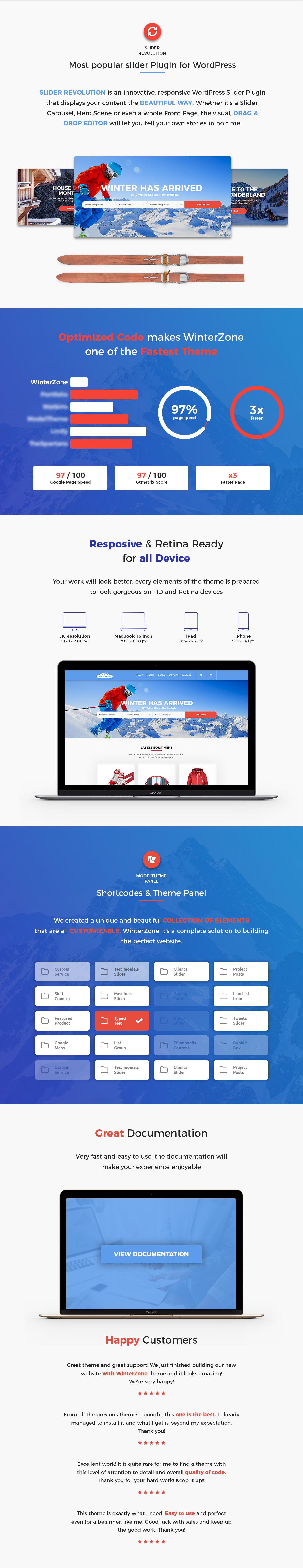 WinterZone – Ski & Winter Sports WordPress Theme - 2
