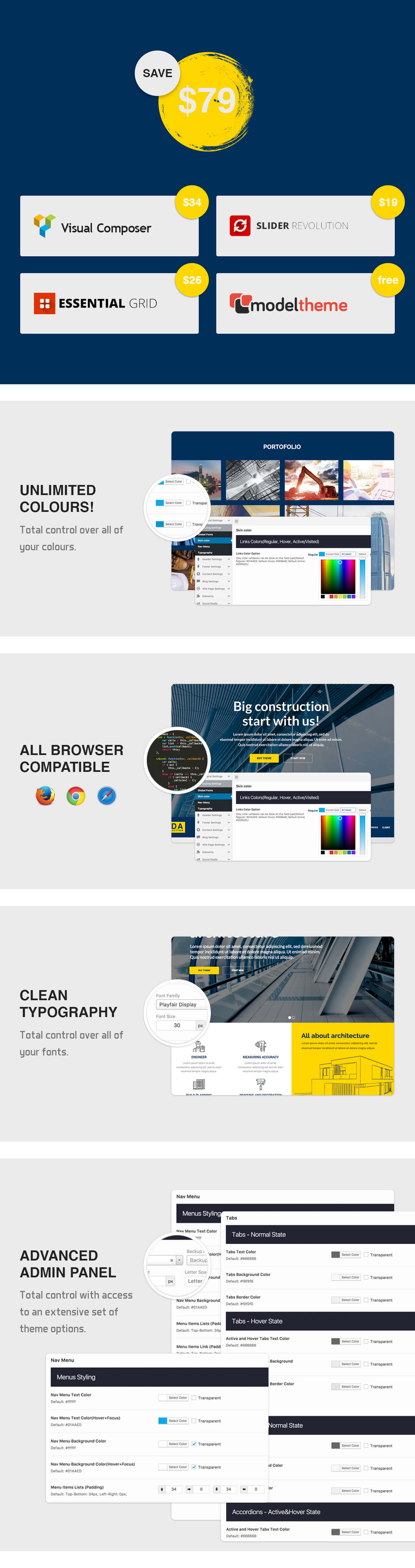 Zada - Construction WordPress Theme - 4