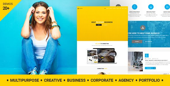 Connection – Creative Agency WordPress Theme