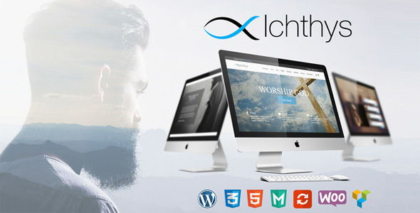 Ichthys - Church WordPress Theme
