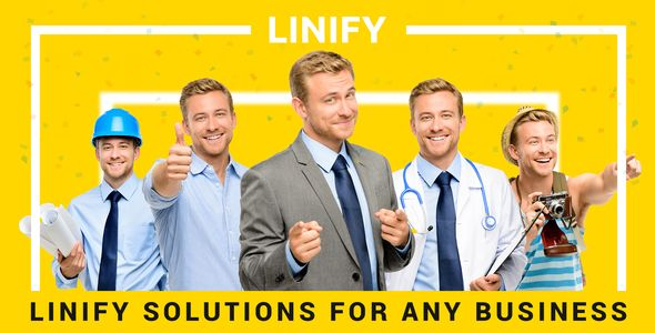 Linify - Multipurpose Corporate WordPress Theme